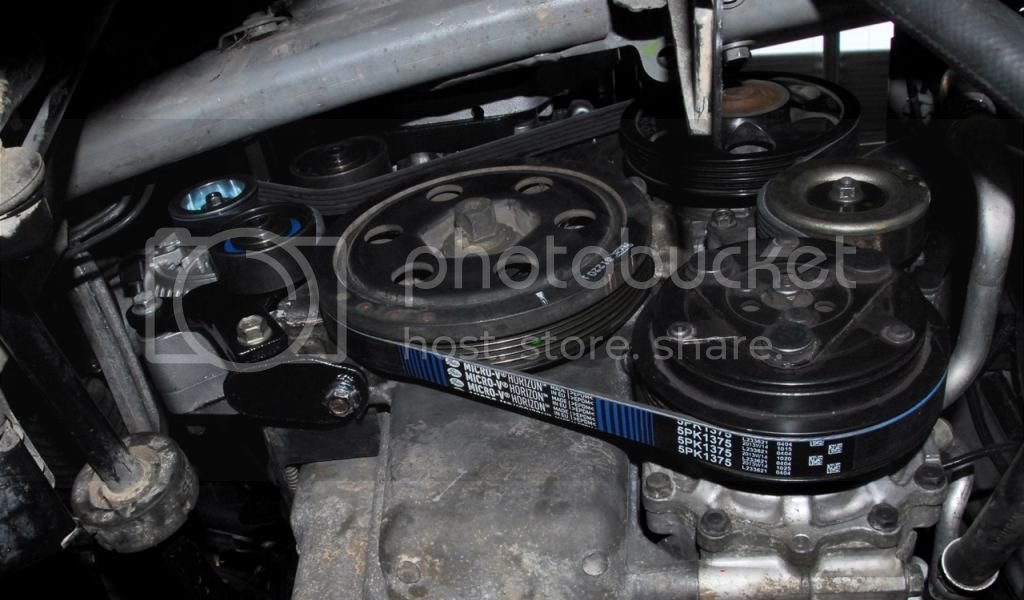 Turbo, w/a intercooling, alternator and MoTeC management