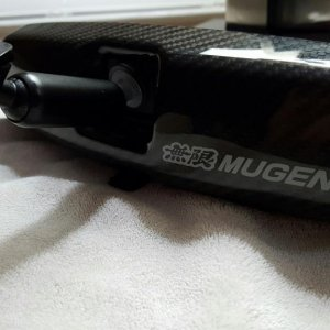 Mugen Carbon Fiber Room Mirror Cover